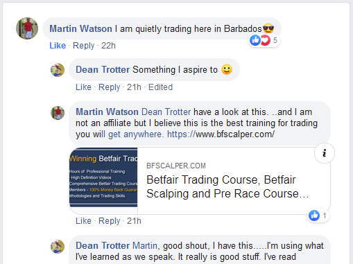 Member of BFScalper trading from Barbados